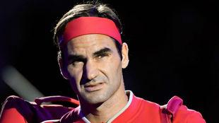 Roger Federer en el Abierto de Australia 2020