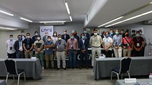 Los participantes de la Asamblea Extraordinaria y Ordinaria de la LNFS...