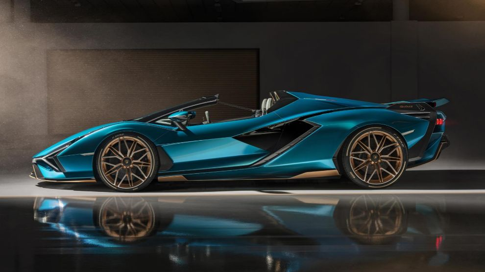 Lamborghini Sián Roadster: el toro híbrido se desmontera