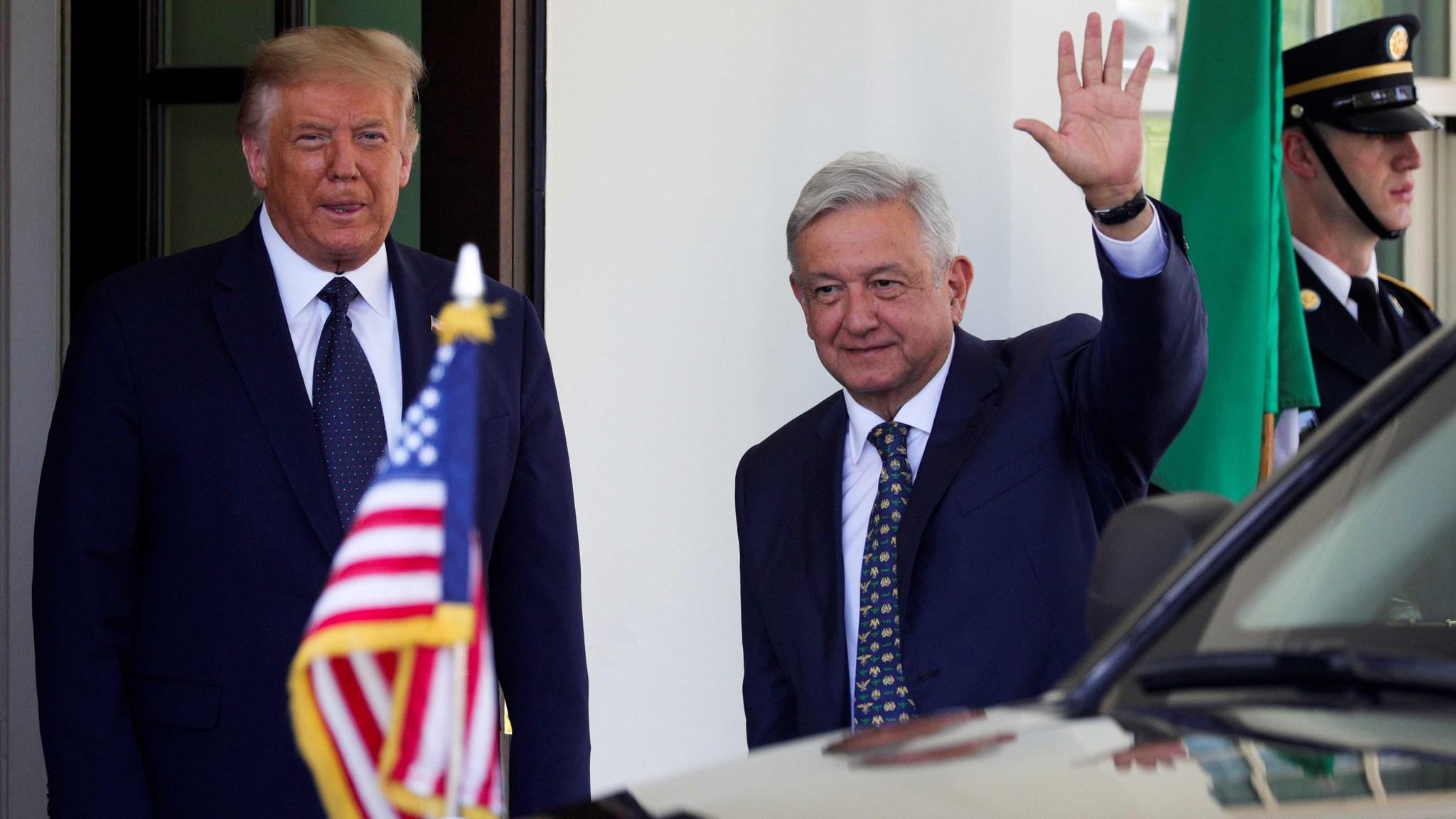 Visita a Trump en vivo: AMLO en Estados Unidos, 8 de julio: El ...