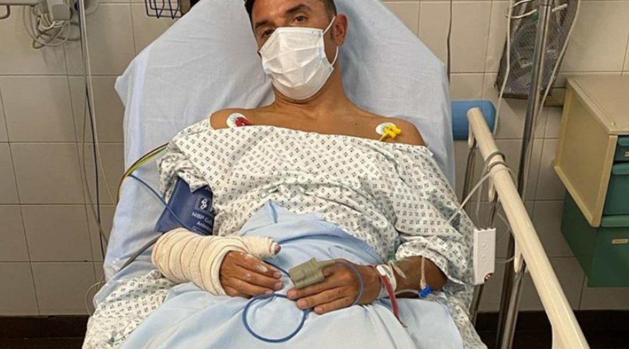 """Purito Rodríguez acaba en el hospital tras un duro accidente: """"Otra vez"""""""