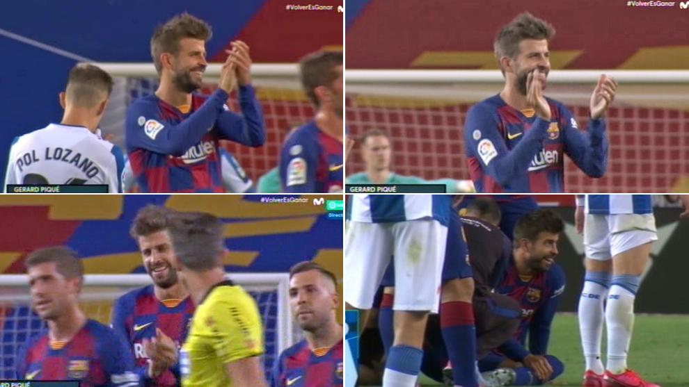 """Piqué al árbitro: del """"bravo, bravo"""" al """"es roja clarísima"""""""