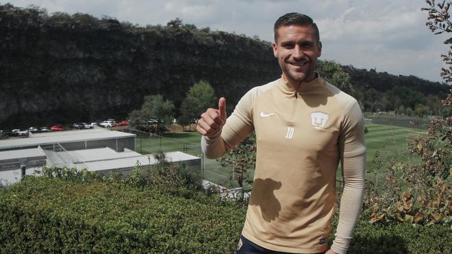 Andrés Iniestra será capitán de Pumas.