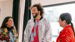Así ha sido el 'cameo' de Marcelo en la moda urbana