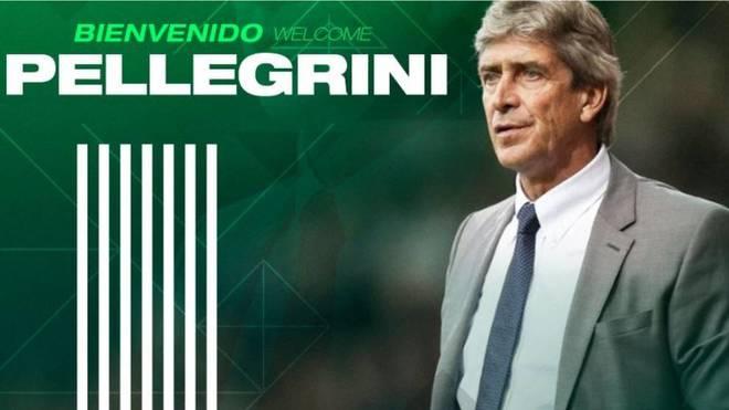 Manuel Pellegrini, nuevo entrenador del Betis