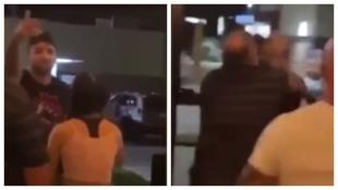 Un luchador de la UFC noquea a un cliente de un bar durante una discusión