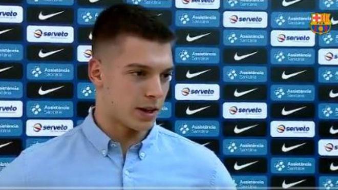 Domen Makuc, nuevo jugador del Barcleona /