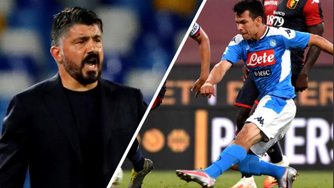 Chucky Lozano ha anotado goles importantes para el Napoli