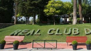 La entrada del Club de Polo en Barcelona