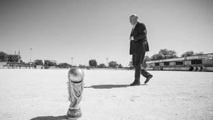 Del Bosque y la Copa del mundo en el reportaje de MARCA diez años...