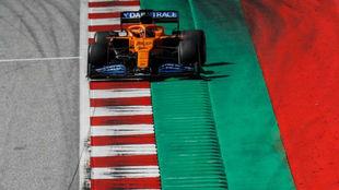 Carlos Sainz, durante el Gran Premio de Austria de la semana pasada.