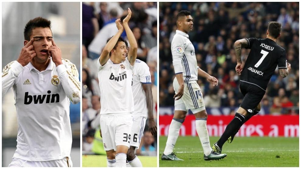 Joselu, goleador con el Castilla, con el primer equipo del Madrid y...