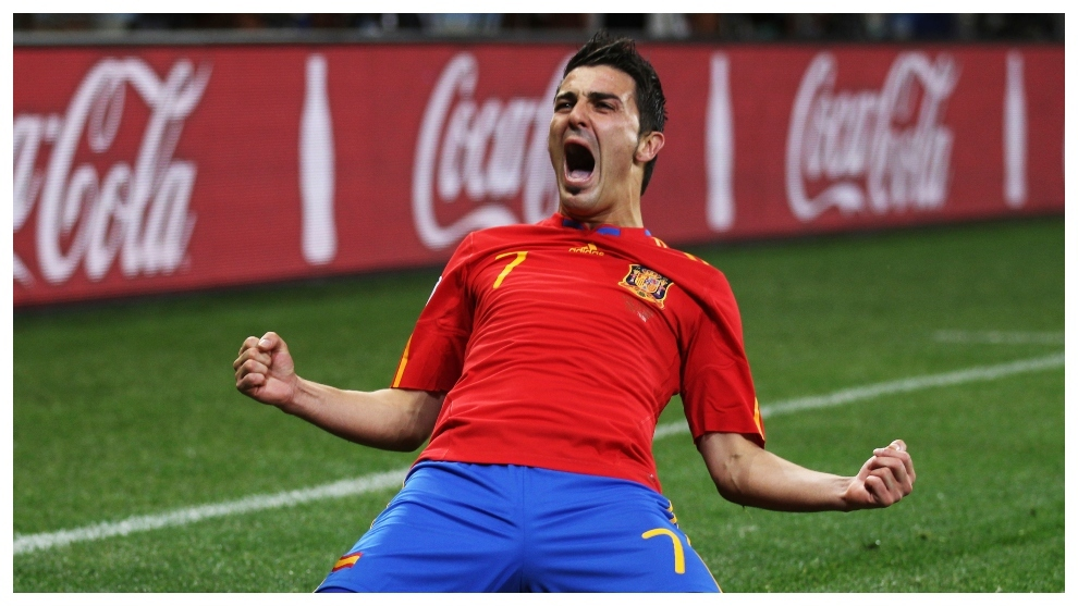 David Villa describes each of his five goals from the 2010 World Cup