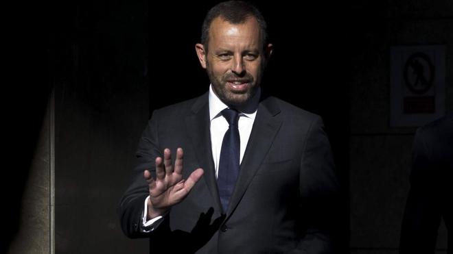 El ex presidente del Barcelona, Sandro Rosell.