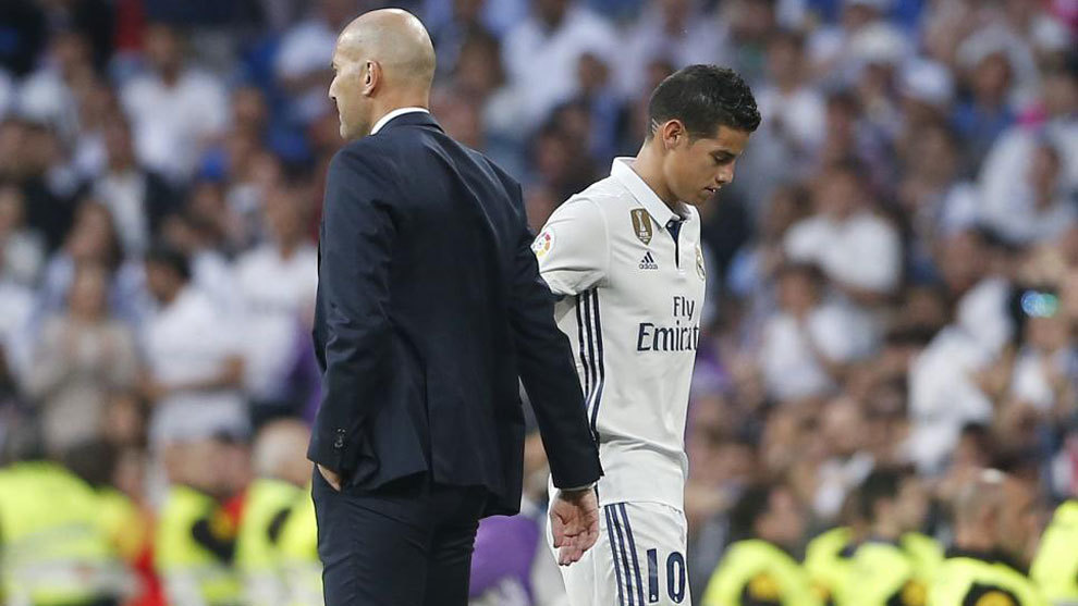 James and Zidane in 2016/17