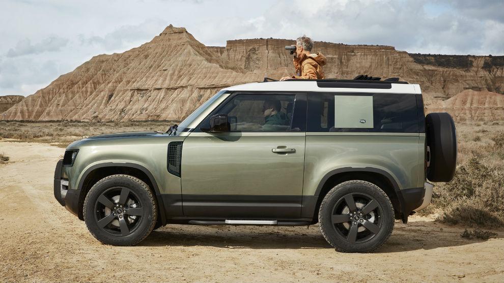 El nuevo Land Rover Defender de tres puertas.