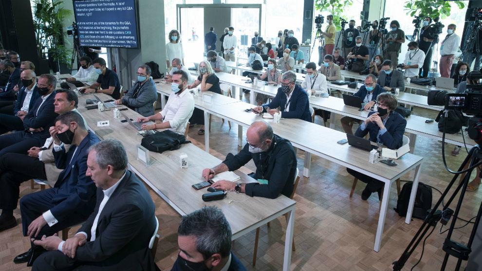 Un momento del evento celebrado en la Casa Seat de Barcelona.