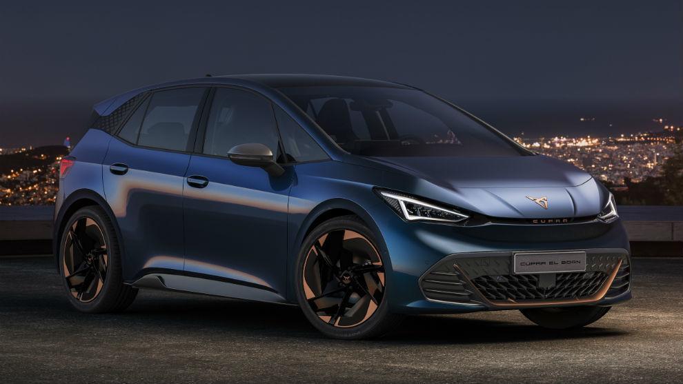 El Cupra el-born será el primer modelo genuinamente eléctrico de la marca.