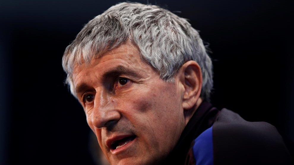 Setien: Barcelona can reach the final round with a chance of winning the title