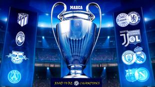 Sorteo de Champions en directo Real Madrid fc barcelona atletico...