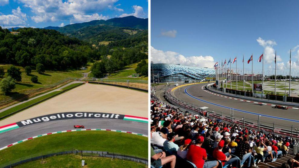 Mugello y Sochi se incorporan al calendario 2020.