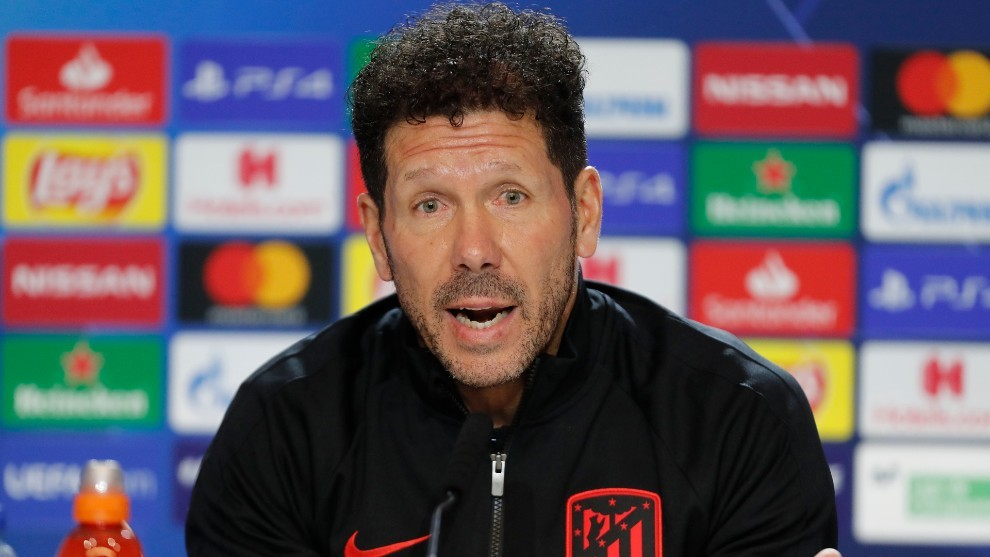 Simeone: RB Leipzig have had a great season, this tie is 50-50