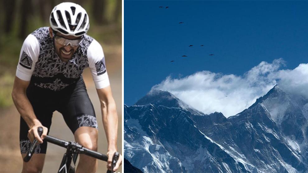 Alberto Contador completa el increíble reto Everesting