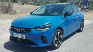 El Opel Corsa-e se fabrica en Figueruelas (Zaragoza).