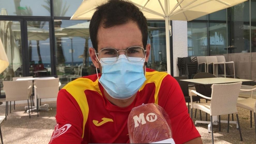 """Héctor Carretero: """"Ojalá repitamos con Soler en el Giro lo de Carapaz en 2019"""""""