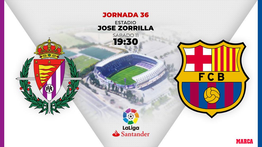 Valladolid vs Barcelona: On hostile land
