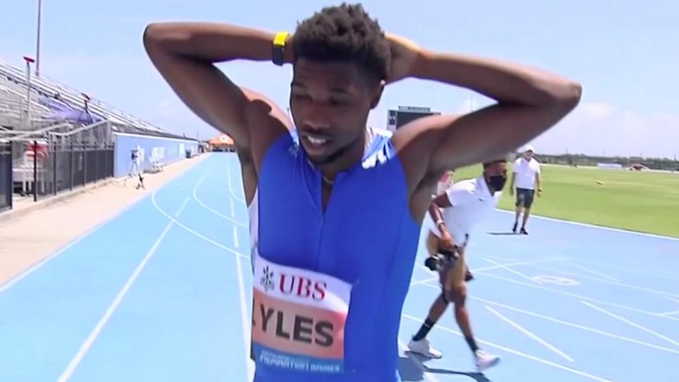 El atletismo volvió tras la emergencia mundial por la pandemia del...