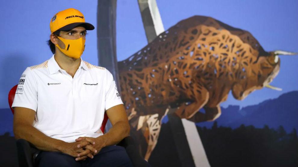 Carlos Sainz, protagonista del Gran Premio de Estiria.