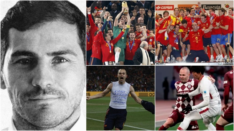 What are Spain's 2010 World Cup heroes doing now? Coaches, agents, entrepreneurs...