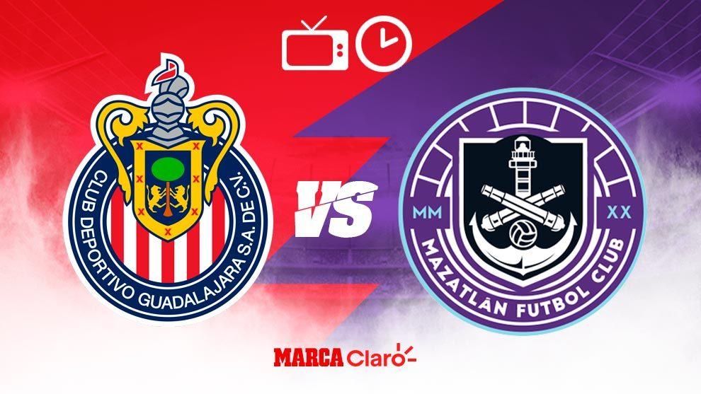 Chivas vs Mazatlán FC hoy en vivo: Horario y dónde ver por TV el partido de la tercera jornada de la Copa por México