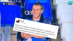 Bale y el tuit de Ibai Llanos