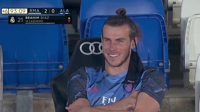 ¿Bale pretende estar riéndose en la grada hasta 2022?