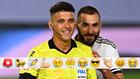 Gil Manzano y Karim Benzema