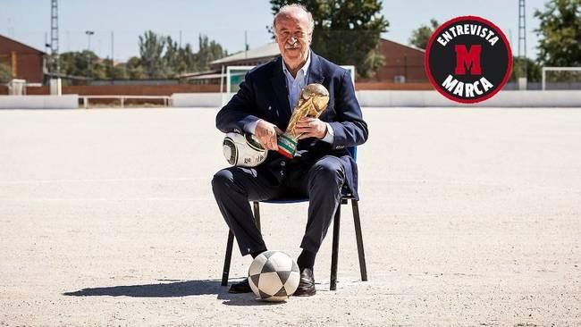 """Del Bosque: """"Luis Aragonés se disculpó antes de morir, no tenía por qué hacerlo"""""""