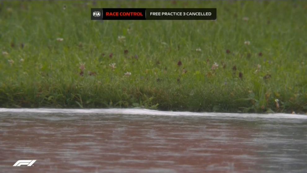 Resultados de Libres 3 del GP de Estiria de Fórmula 1, sesión cancelada por lluvia