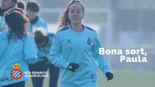 El Espanyol ha rescindido el contrato de Paula Moreno, procedente del...