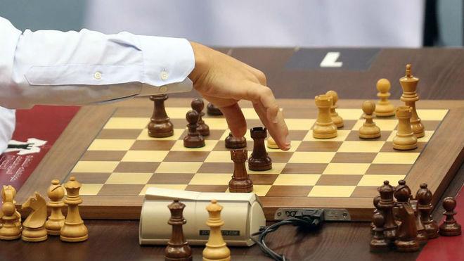 Una partida de ajedrez.