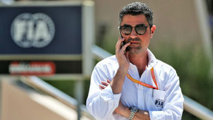 Michael Masi, director de Carrera de la Fórmula 1.