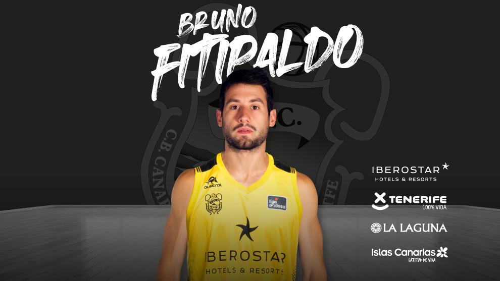 Así anuncio el Iberostar Tenerife el fichaje de Fitipaldo