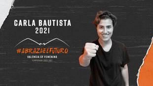 Carla Bautista, nuevo fichaje del Valencia de cara a la próxima...