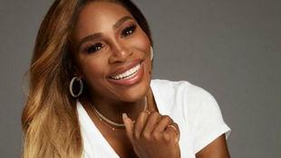 Serena posa con algunas de las joyas de su colección