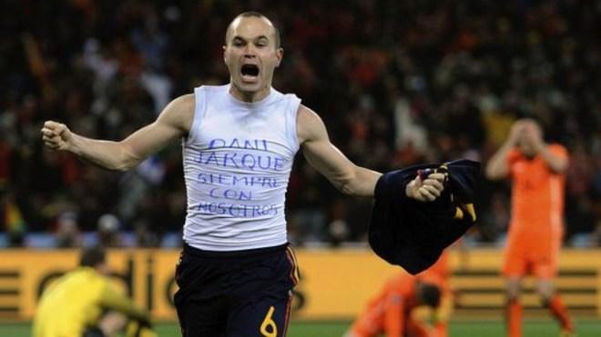 El exjugador del Barcelona le dio el título de campeón del mundo a...