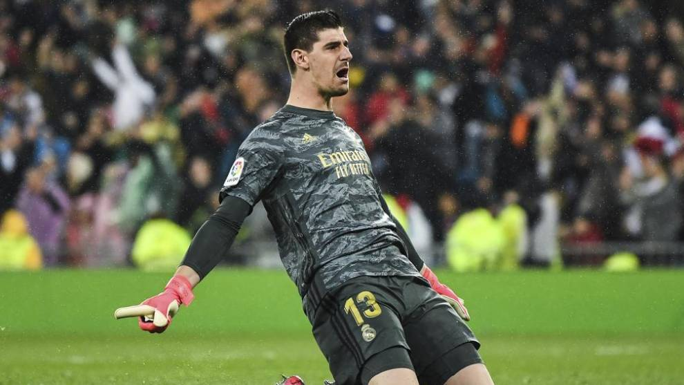 Courtois makes Real Madrid forget about Keylor Navas