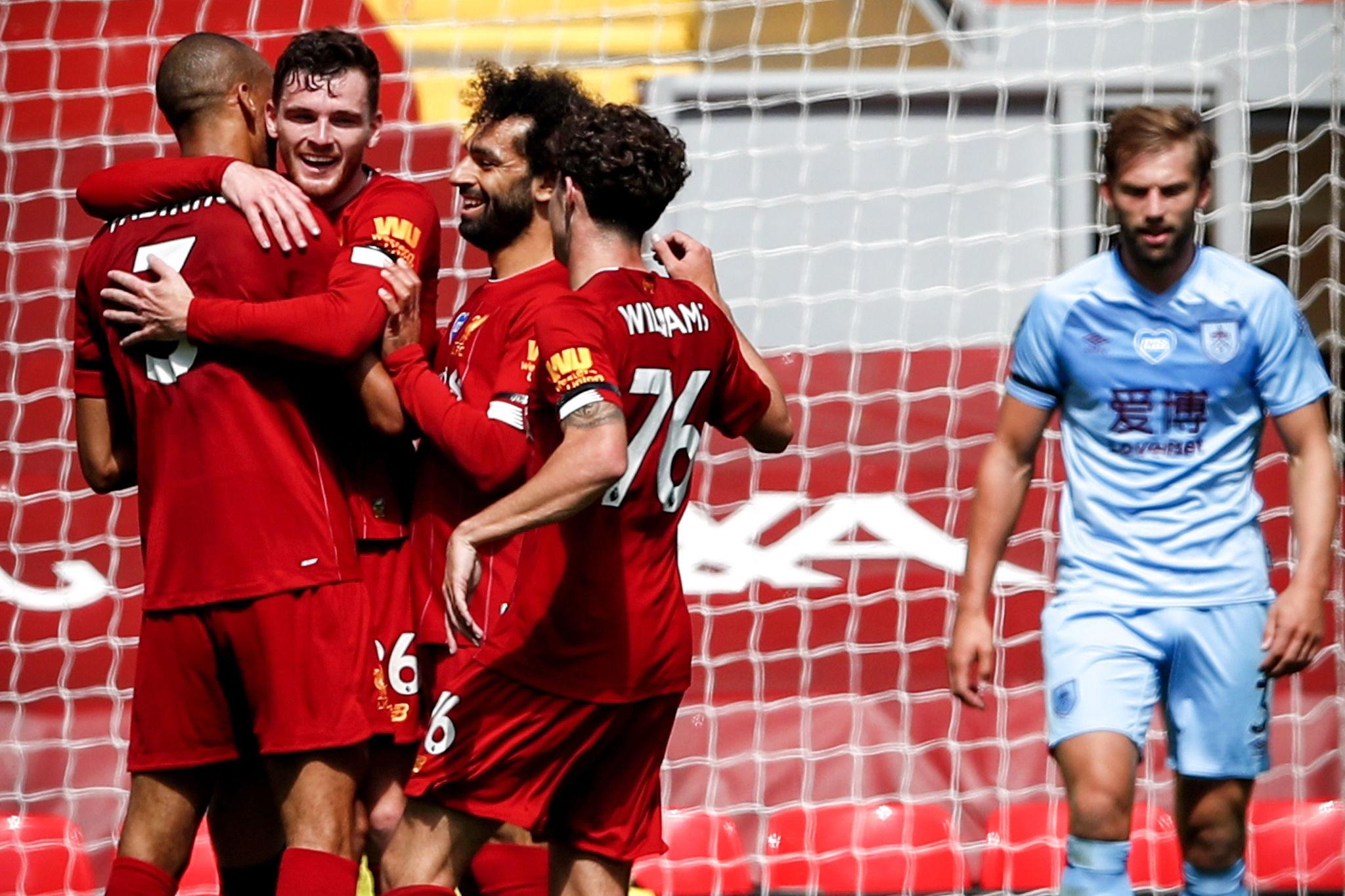 Liverpool vs Burnley El Liverpool se complica la 'Liga de los 100 ...
