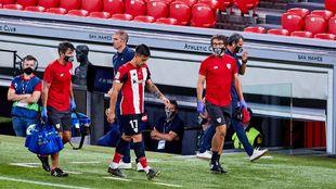 Yuri cayó en el último partido ante el Sevilla.