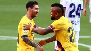 El Barcelona sigue de cerca al Real Madrid en la lucha por LaLiga.
